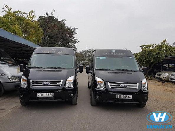 Nhu cầu cho thuê xe ford transit limousine 9 chỗ ngày càng tăng cao