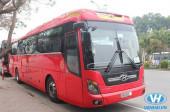 Vân Hải cung cấp dịch vụ cho thuê xe 45 chỗ giá rẻ nhất Hà Nội
