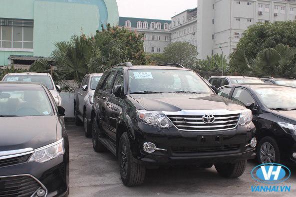 Dàn xe 7 chỗ đời mới Vân Hải đang sở hữu
