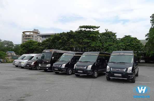 Dàn xe hiện đại Vân Hải đang phục vụ khách hàng