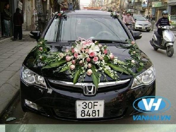 Một chiếc xe cưới hiện đại sẽ góp phần làm hoàn hảo ngày vu quy
