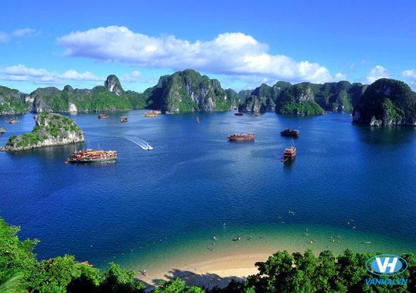 Cảnh quan thiên nhiên tươi đẹp của những hòn đảo nhỏ