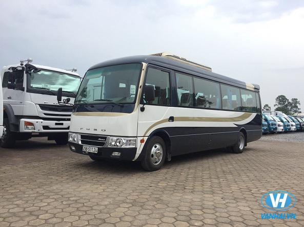 Vân Hải đầu tư dòng xe Fuso Rosa 22 chỗ phục vụ khách hàng