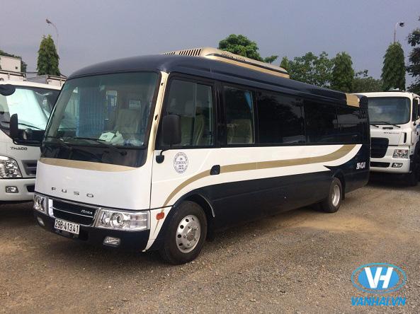Dòng xe Fuso Rosa 22 chỗ Exclusive VIP thời thượng