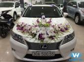 Vân Hải cho thuê xe cưới và hoa cưới giá ưu đãi nhất Hà Nội