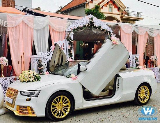 Xe cưới Audi A4 thời thượng và sang trọng
