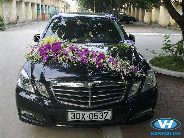 Vân Hải cho thuê xe cưới Mercedes S500 giá rẻ cạnh tranh