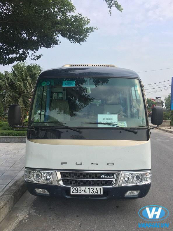 Dịch vụ cho thuê xe Fuso Rosa 22 chỗ giá rẻ nhất tại Hà Nội