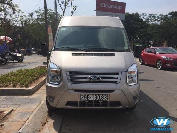 Cho thuê xe ford transit 16 chỗ theo tháng giá rẻ nhất Hà Nội