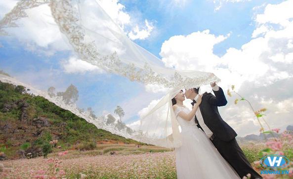 Những điểm chụp ảnh cưới ngoại cảnh đẹp nhất miền Bắc