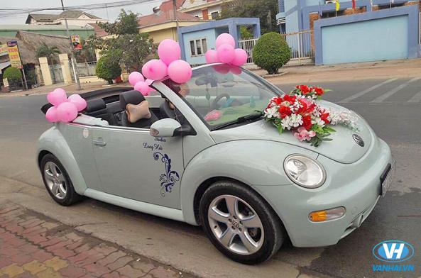 Công ty Vân Hải cho thuê xe cưới Volkswagen giá rẻ nhất