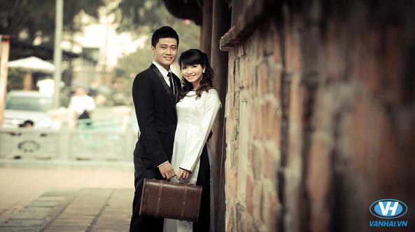 Lưu giữ những tấm ảnh cưới ở các khung hình đẹp
