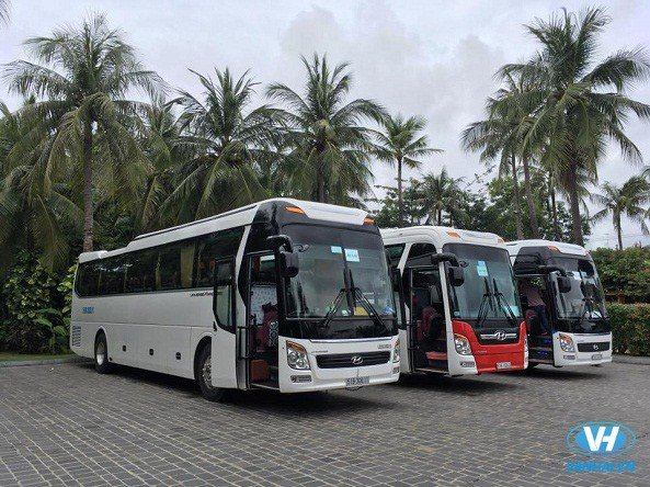 Dàn xe du lịch hiện đại được Vân Hải đưa vào phục vụ khách hàng
