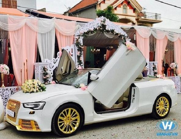 Thuê xe cưới Audi A5 mui trần chuyên nghiệp nhất tại Vân Hải
