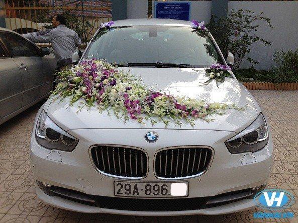 Dịch vụ thuê xe cưới BMW ngày càng được quan tâm