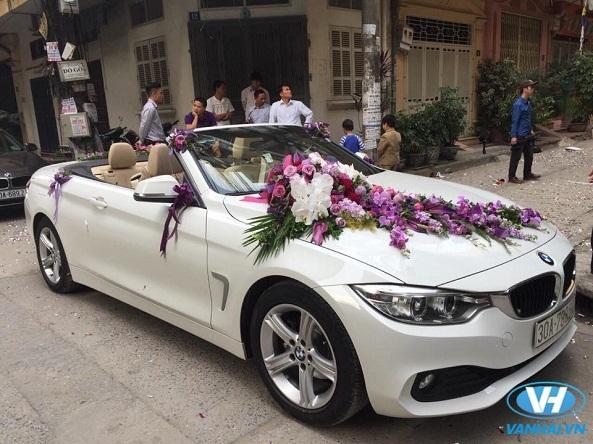 Thiết kế đẹp mắt của chiếc xe cưới BMW