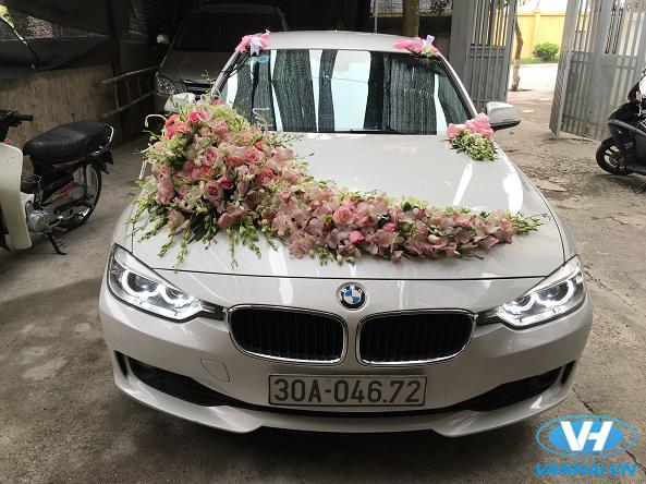 Xe cưới BMW mang đến điểm nhấn ấn tượng cho lễ cưới