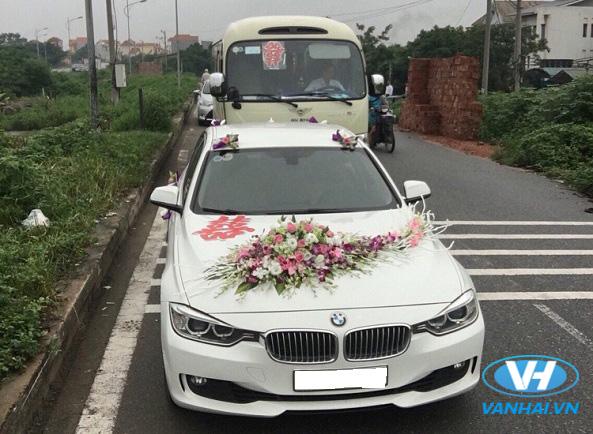 Vân Hải cung cấp dòng xe cưới BMW với giá cạnh tranh