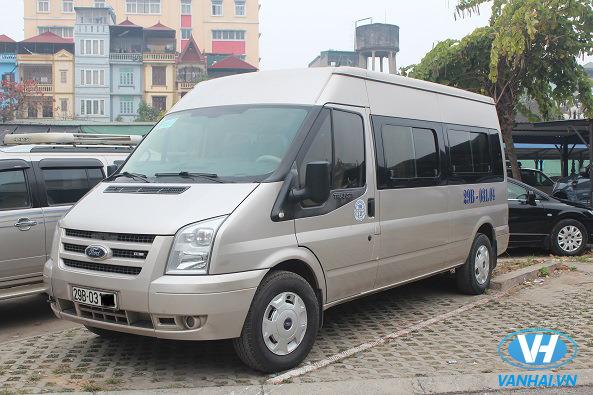 Dàn xe 16 chỗ hiện đại của Vân Hải