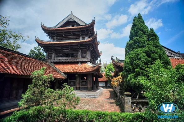 Kiến trúc độc đáo ở chùa Keo – Thái Bình