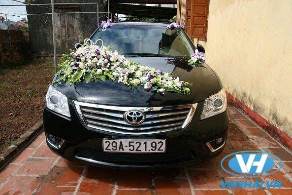 Xe cưới là yếu tố quan trọng của lễ rước dâu