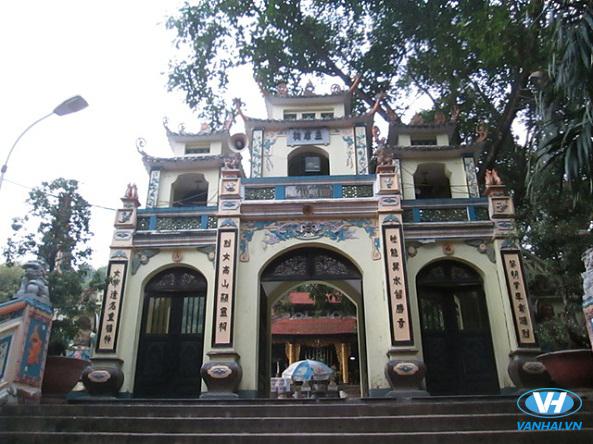 Kiến trúc độc đáo của đền Bà Chúa Kho