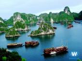 Dịch vụ thuê xe du lịch 16 chỗ giá rẻ đi Hạ Long của Vân Hải