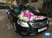 Dịch vụ cho thuê xe cưới 4 chỗ Toyota Camry tại Hà Nội