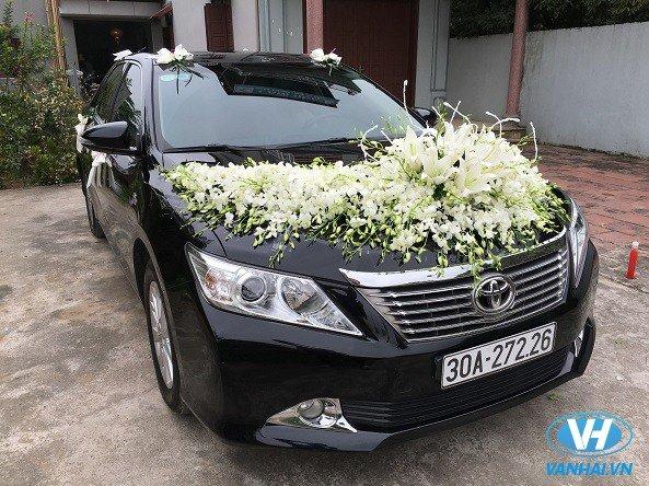 Mẫu xe cưới thời thượng của công ty Vân Hải