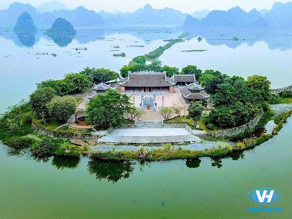 Không gian thanh bình, an yên nơi chùa Tam Chúc