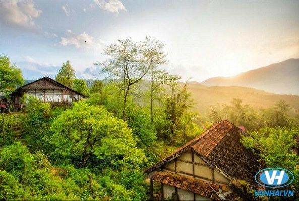 Chiêm ngưỡng cảnh quan tươi đẹp nơi phố núi Sapa
