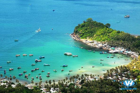 Đảo Cô Tô trong xanh như ngọc bích