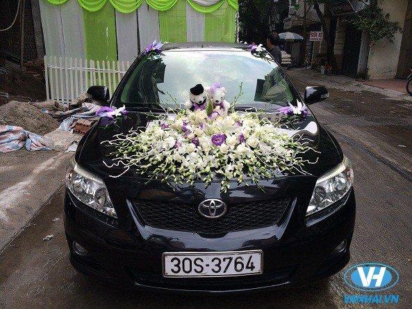 Dòng xe cưới Toyota Altis hiện đại và thời trang