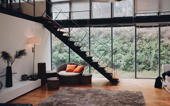 Không gian nội thất của Hidden Villa có thiết kế đẹp mắt