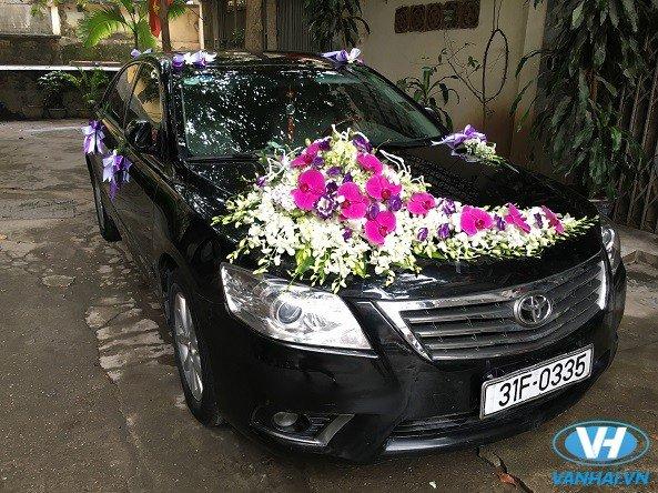 Trang trí nổi bật của các mẫu xe hoa cưới tại Vân Hải