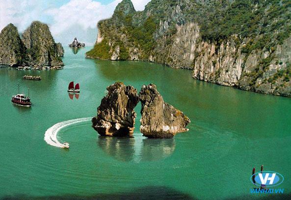 Hạ Long là điểm du lịch biển số 1 miền Bắc