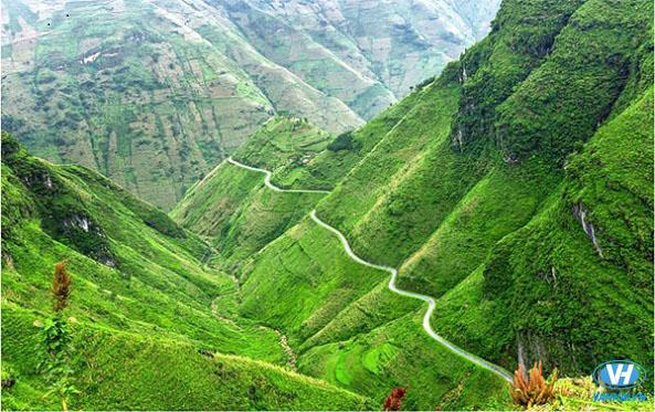 Cảnh sắc núi rừng Hà Giang để lại ấn tượng sâu sắc với du khách