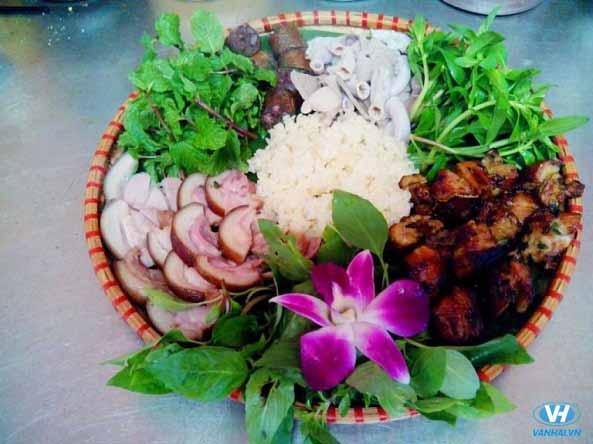 Thịt lợn mán được chế biến thành nhiều món ăn ngon