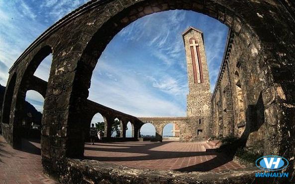 Nhà thờ Tam Đảo là nơi cho ra đời nhiều bức hình đẹp