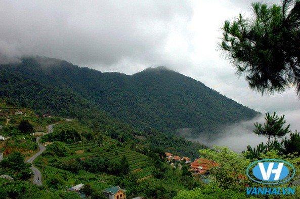 Khung cảnh núi rừng hùng vĩ của Tam Đảo