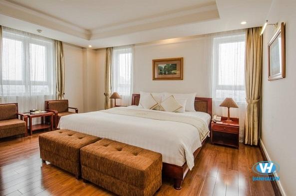 Phòng ốc tiện nghi phục vụ cho du khách lưu trú