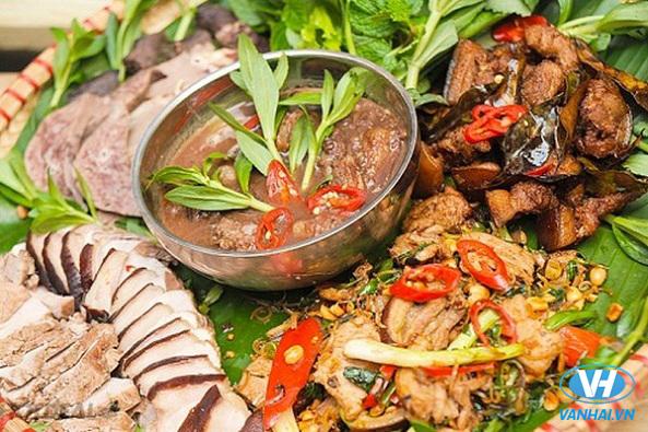 Thịt lợn mán được chế biến thành nhiều món ngon độc đáo